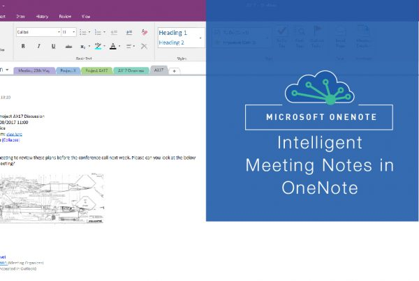 Taking notes the intelligent way with Microsoft OneNote in Office 365