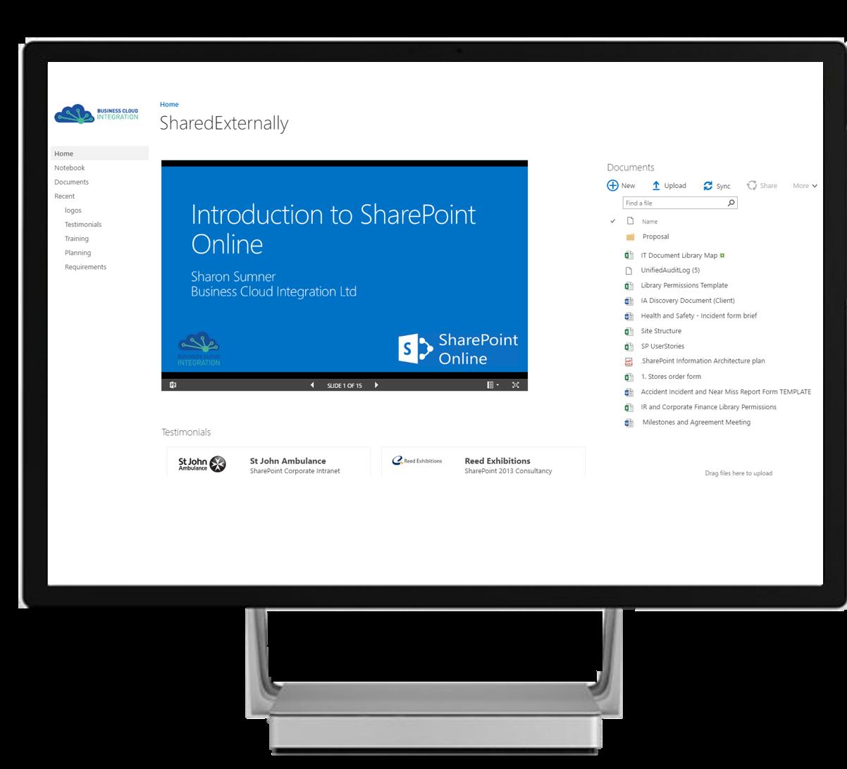 External Sharing Portals in SharePoint Online